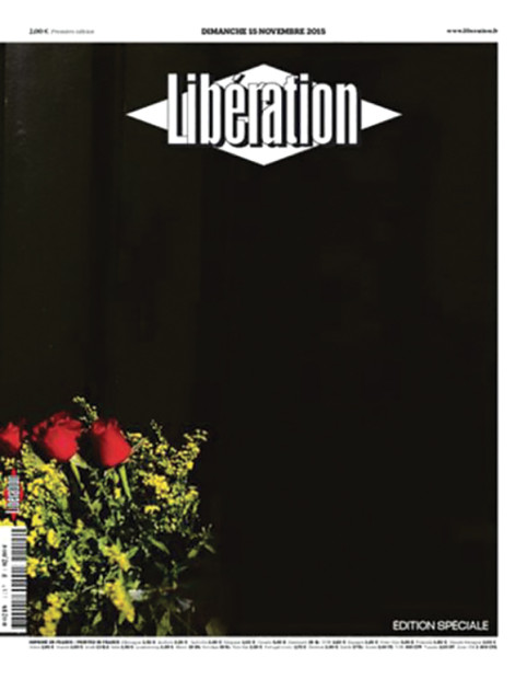 Libération(11月15日付)。