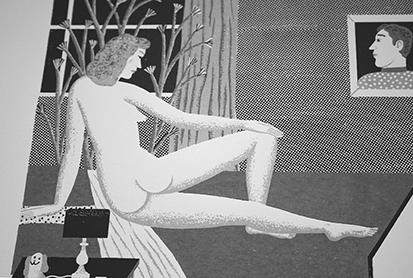 Nu dans la chambre © Fanny Blanc