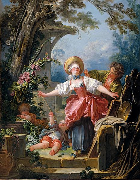 Jean-Honore Fragonard Le Colin-Maillard vers 1754-1756 huile sur toile ; 116,8 x 91,4 cm Toledo, Toledo Museum of Art, don Edward Drummond Libbey © Toledo Art Museum