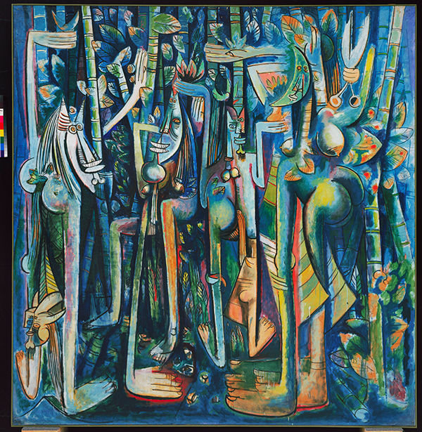 Wilfredo Lam, La Jungle, 1943 The Museum of Modern Art, New York, 2015.  Digital Image, The Museum of Modern Art,New York /  Scala, Florence  © Adagp, Paris 2015