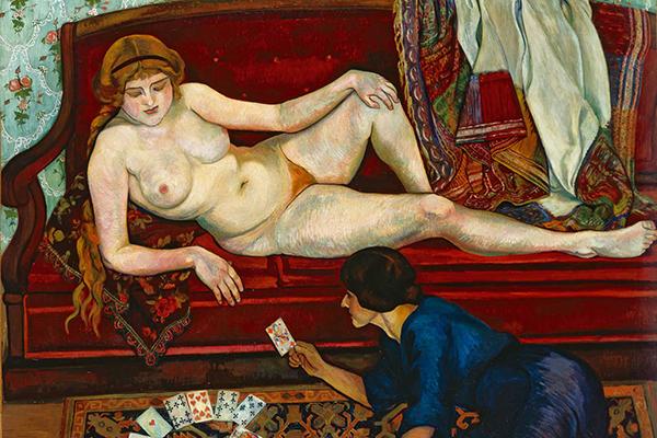 Suzanne Valadon, La Tireuse de cartes, 1912  © Petit Palais, Genève