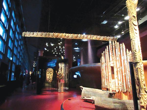 約3500点が常設展示される展示スペース。