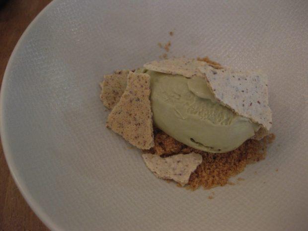 glace à la pistache