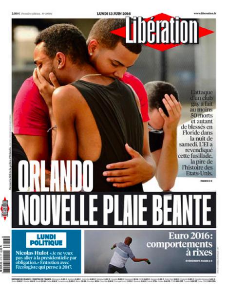 Libération (16-6-13)「塞がらない新しい傷口」。