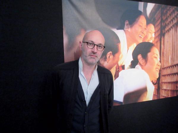 ナント三大陸映画祭ディレクター、ジェローム・バロンさん「世界の秀作が見られます。ぜひ遊びにきて!」。