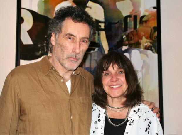 画家のブルース・クラークさんとドロシーさん。