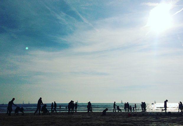 Les Sables d'Olonneは、美しいビーチでも有名