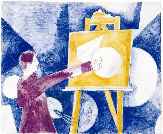 Chagall, Lissitzky, Malévitch....