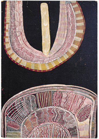 © artists and their estates 2011, licensed by  Aboriginal Artists Agency Limited and Papunya Tula Artists,John et Barbara Wilkerson, New York, USA