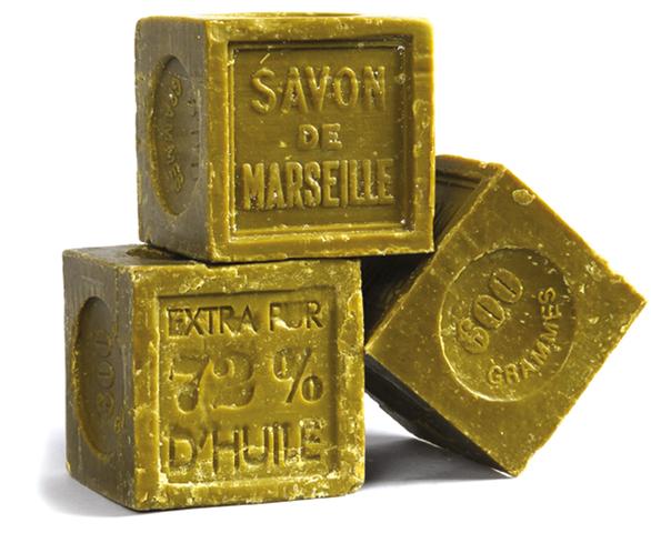 Savon de Marseille cube Olive 300g:5€ 600g:7€