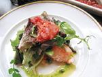 Salade de Homard tomate confit