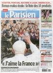 9月13日付パリジャン紙の表紙。