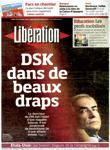 10月20日付リベラシオン紙の表紙。