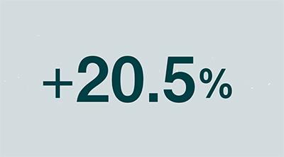 +20.5%
