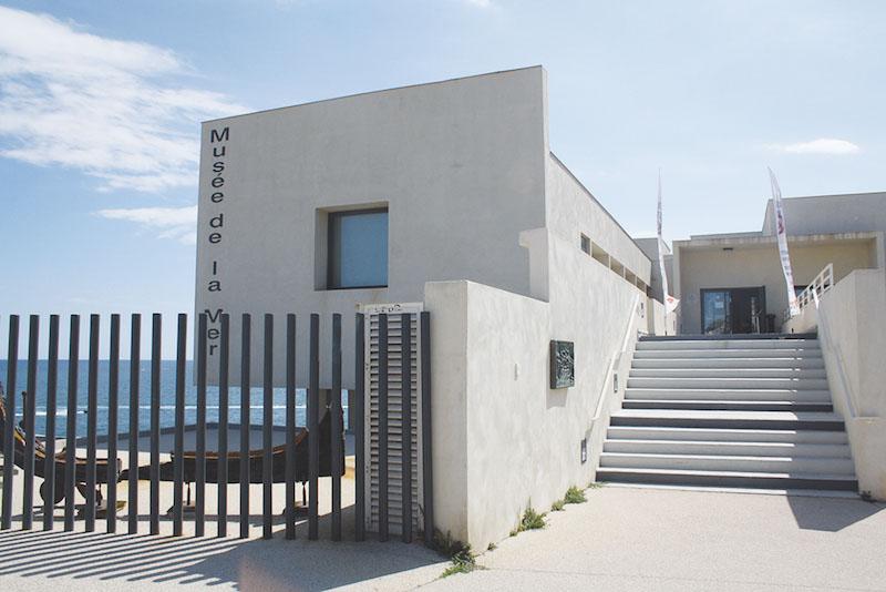 ジュットの専用展示室がある「海の博物館」