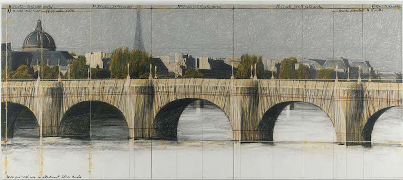 The Pont-Neuf Wrapped (Project for Paris) – [Le Pont-Neuf empaqueté (Projet pour Paris)]