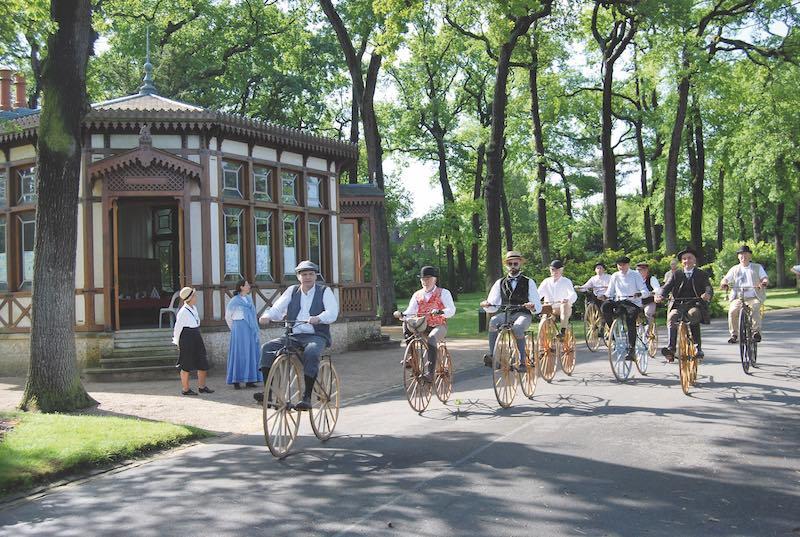 サンクルー自転車競技150周年イベントの様子