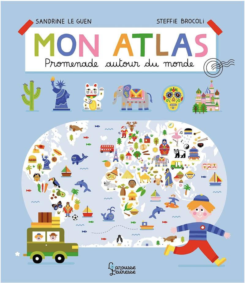 Mon atlas: Promenade autour du monde