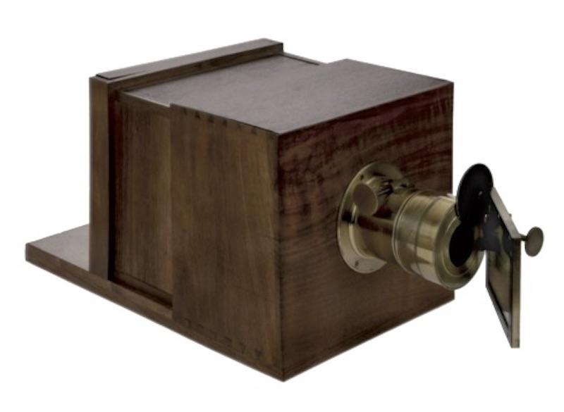 1850年製のダゲレオタイプ。