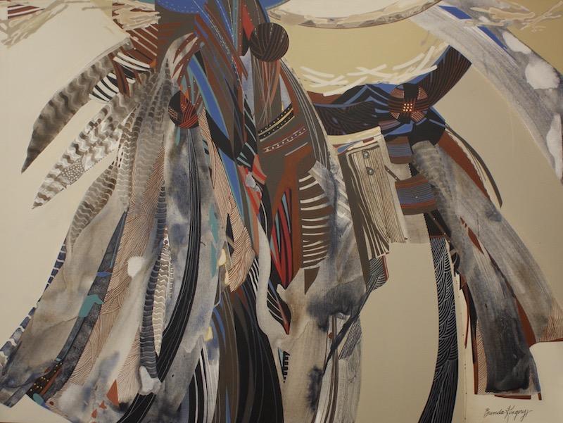Souffle de vie : une fresque amérindienne