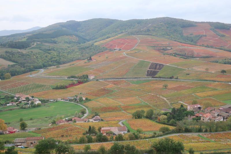 ブルイィ山頂上からの眺め。