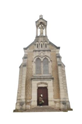 ノートル・ダム・デ・レザン礼拝堂。
