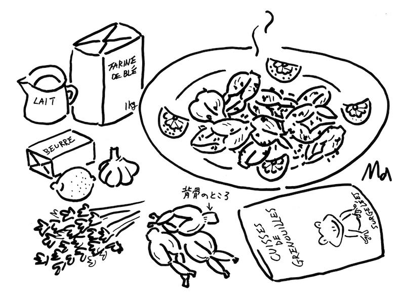Cuisses de grenouilles à la provençale